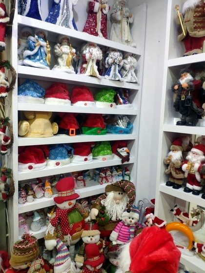 9123 ZQ Santa Clause wholesale supplier & factory showroom 010