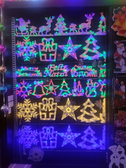 9137 WEIWEI Christmas Lights Factory Wholesale Supplier in Yiwu China. Showroom 003