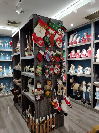 9172 BoYang Christmas Crafts Showroom 003