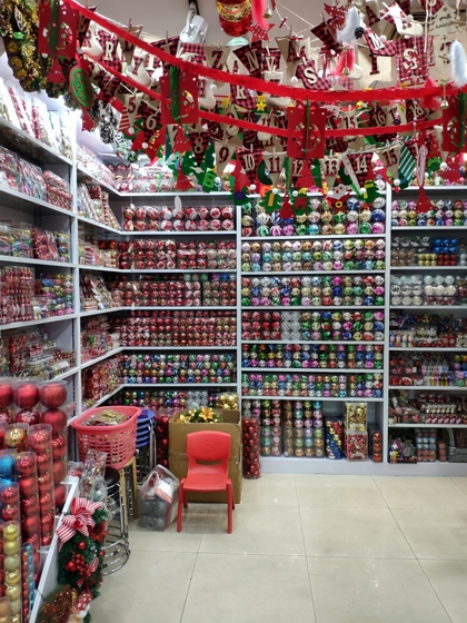 9185 XingDa Christmas Crafts Showroom 002