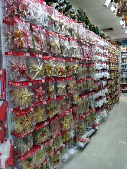 9185 XingDa Christmas Crafts Showroom 003