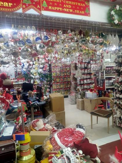 9192 ZHANBANG Christmas Decor wholesale factory supplier in yiwu China. Showroom 003