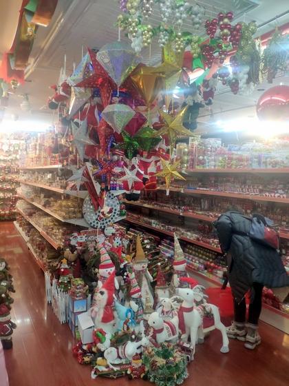 9192 ZHANBANG Christmas Decor wholesale factory supplier in yiwu China. Showroom 005