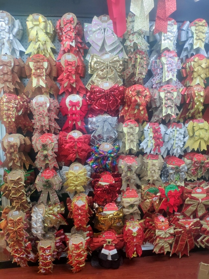 9192 ZHANBANG Christmas Decor wholesale factory supplier in yiwu China. Showroom 007