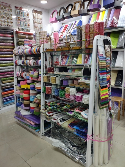 9193 Flower Package Supplies & Accessories Showroom 002
