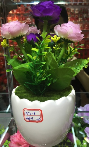 Cheap-Potted-Flowers-Wholesale-Yiwu-China