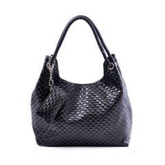 PU Crochet Knitted Hand / Shoulder Bags