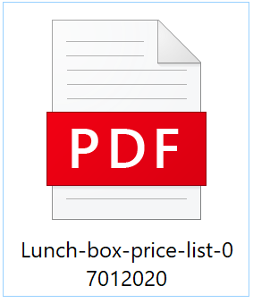 *Click to download Price List 07012020 for Cheap Lunch Box
