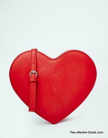 heart shape bags