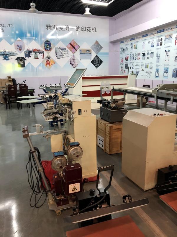 High accuracy printing machines in Packing & Printing Machinery Market, Yiwu China