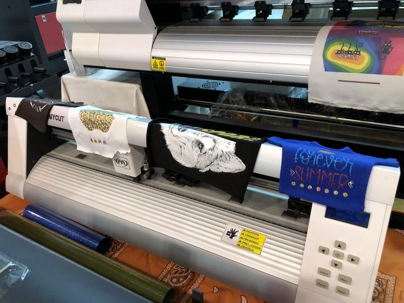 Printing machine in Packing & Printing Machinery Market, Yiwu China