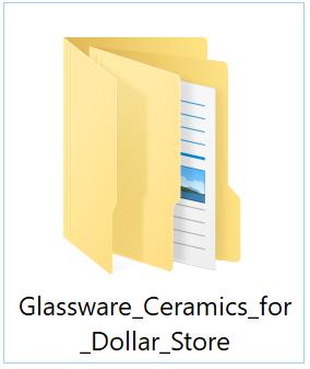 Price Lists & Catalog Pics of Glassware & Ceramics Wholesale for Dollar Store