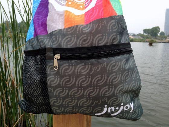 Promotional Drawstring Backpack with Mesh Bag Pocket