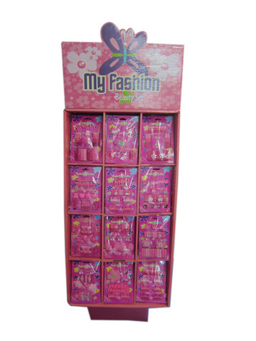 Hair Accessories Set With Display Box Pink 2