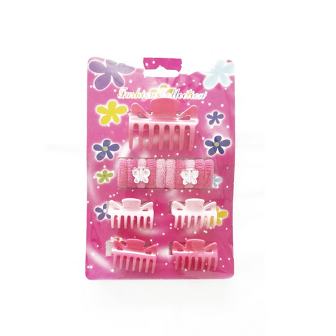 15 pcs hair accessories set for kids: claws, bands