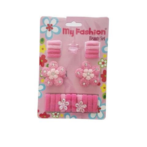 Hair Accessories Set With Display Box, Blue 03
