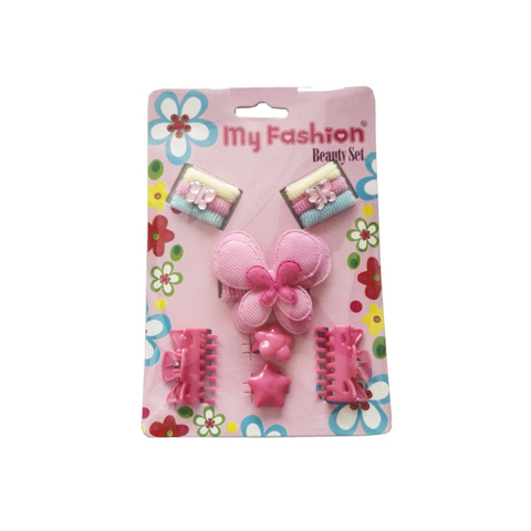 Hair Accessories Set With Display Box, Blue 05