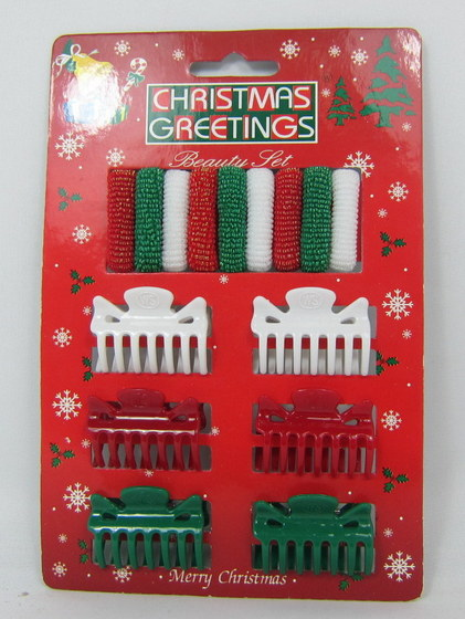 Christmas Hair Accessories With Display Stand Box 05