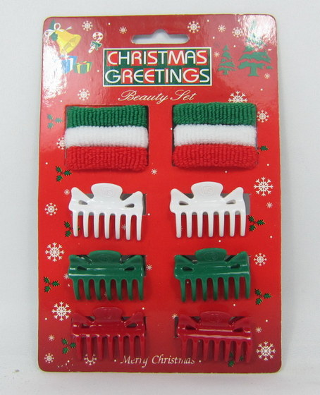 Christmas Hair Accessories With Display Stand Box 07