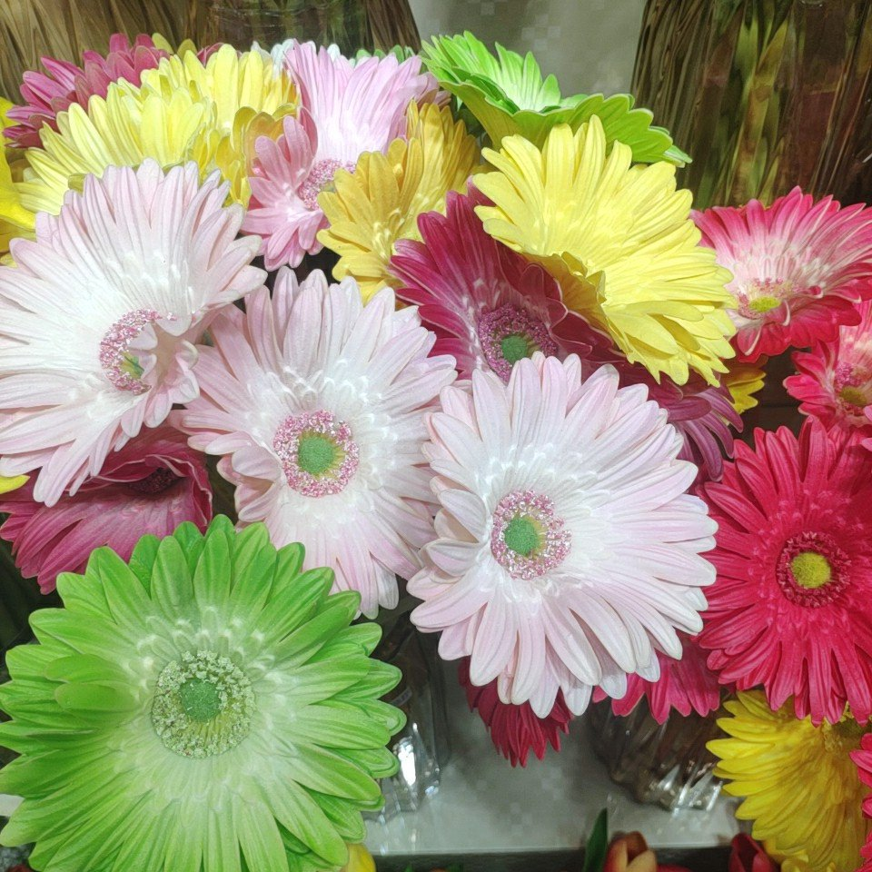 African daisy real touch (PU), Yiwu China 1