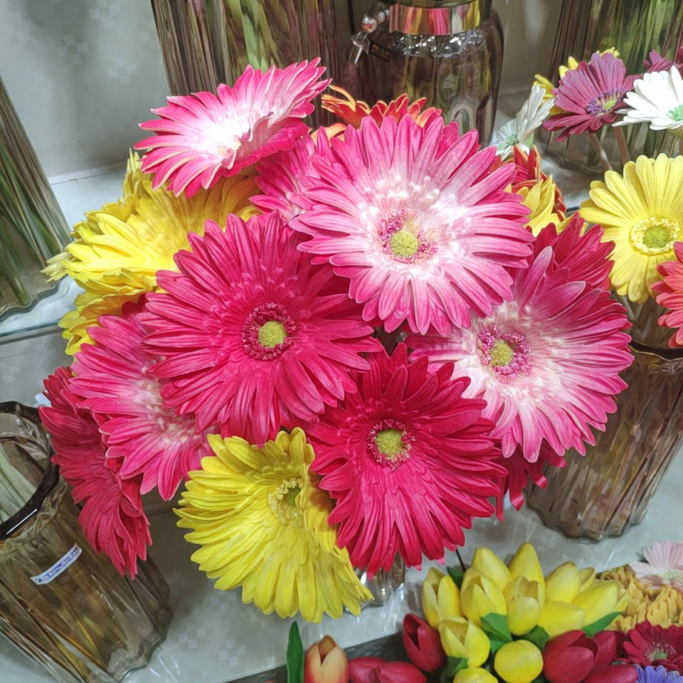 African daisy real touch (PU), Yiwu China