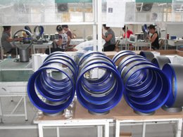 A bladeless fan factory in Ningbo