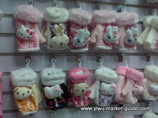 cute girls gloves wholesale