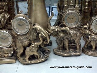 decorative clocks elephant wholesale