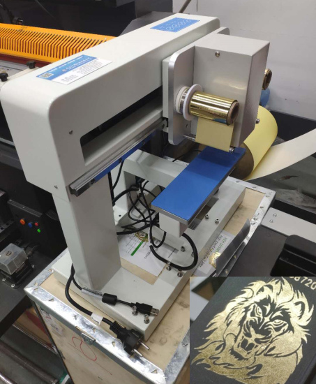 Digital foil press machine made in China