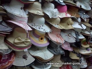 women straw hats wholesale Yiwu China