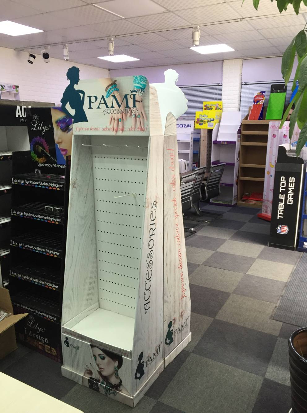 paper cardboard display stand Yiwu China