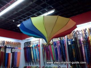 patio umbrella wholesale in Yiwu market
