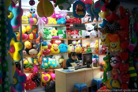 Plush doll shop Yiwu