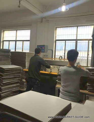 POP paper display factory in Yiwu China