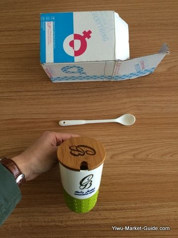 promotional mug with logo printing