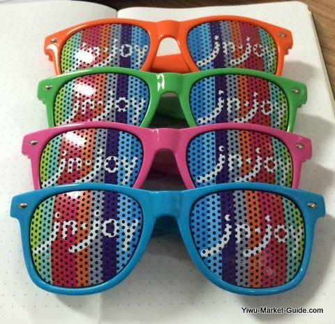 promotional wayfarer sunglasses (front)