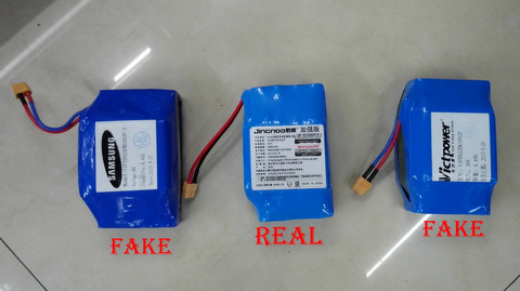 real Samsung battery VS fake