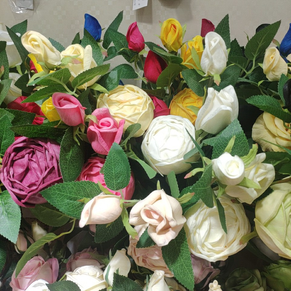 roses real touch (PU), Yiwu China 1