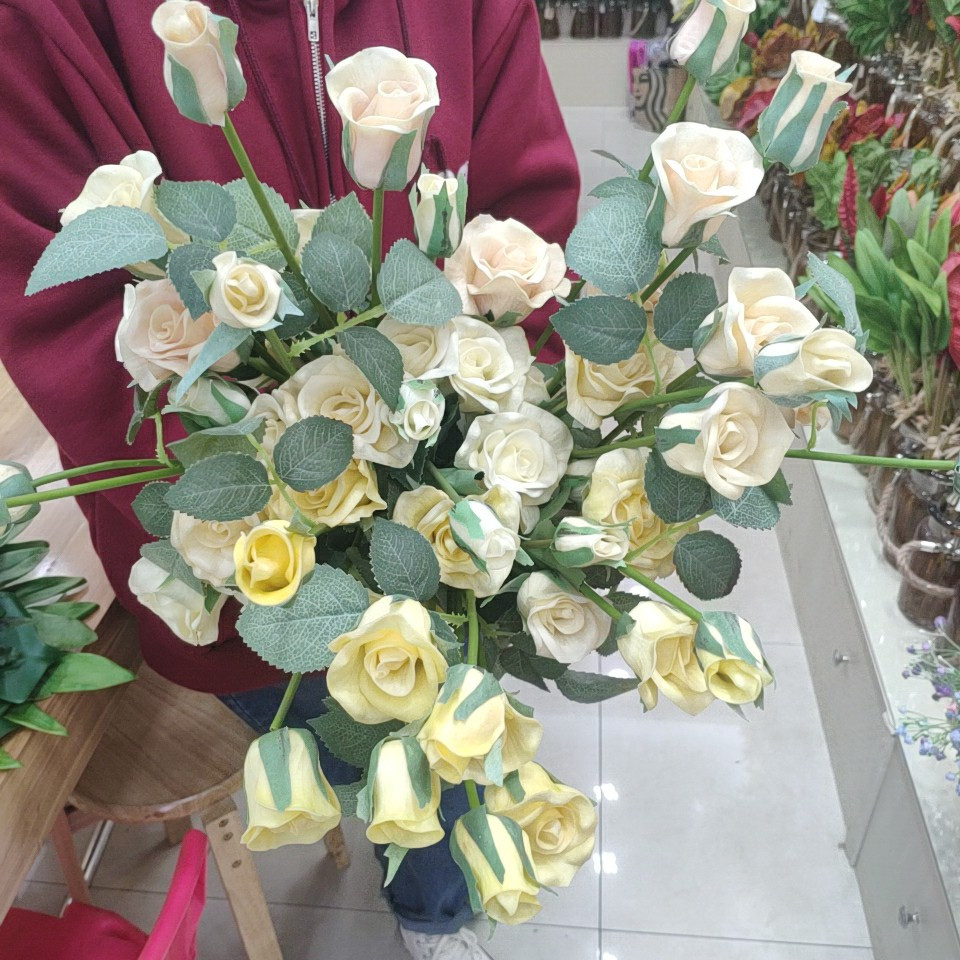 roses real touch (PU), Yiwu China 2
