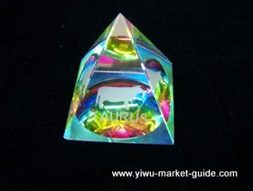 small crystal decoration