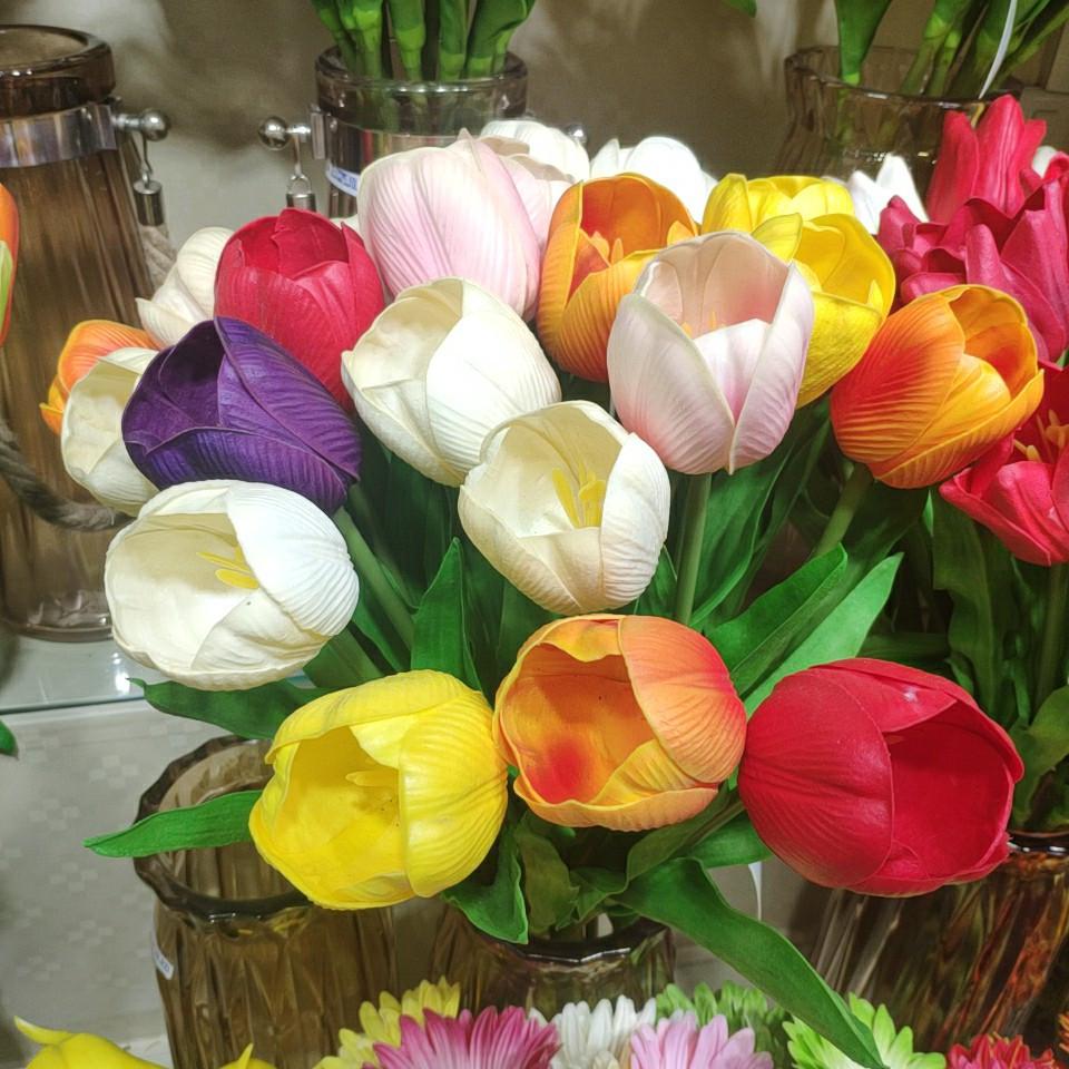 tulips real touch (PU), Yiwu China 1