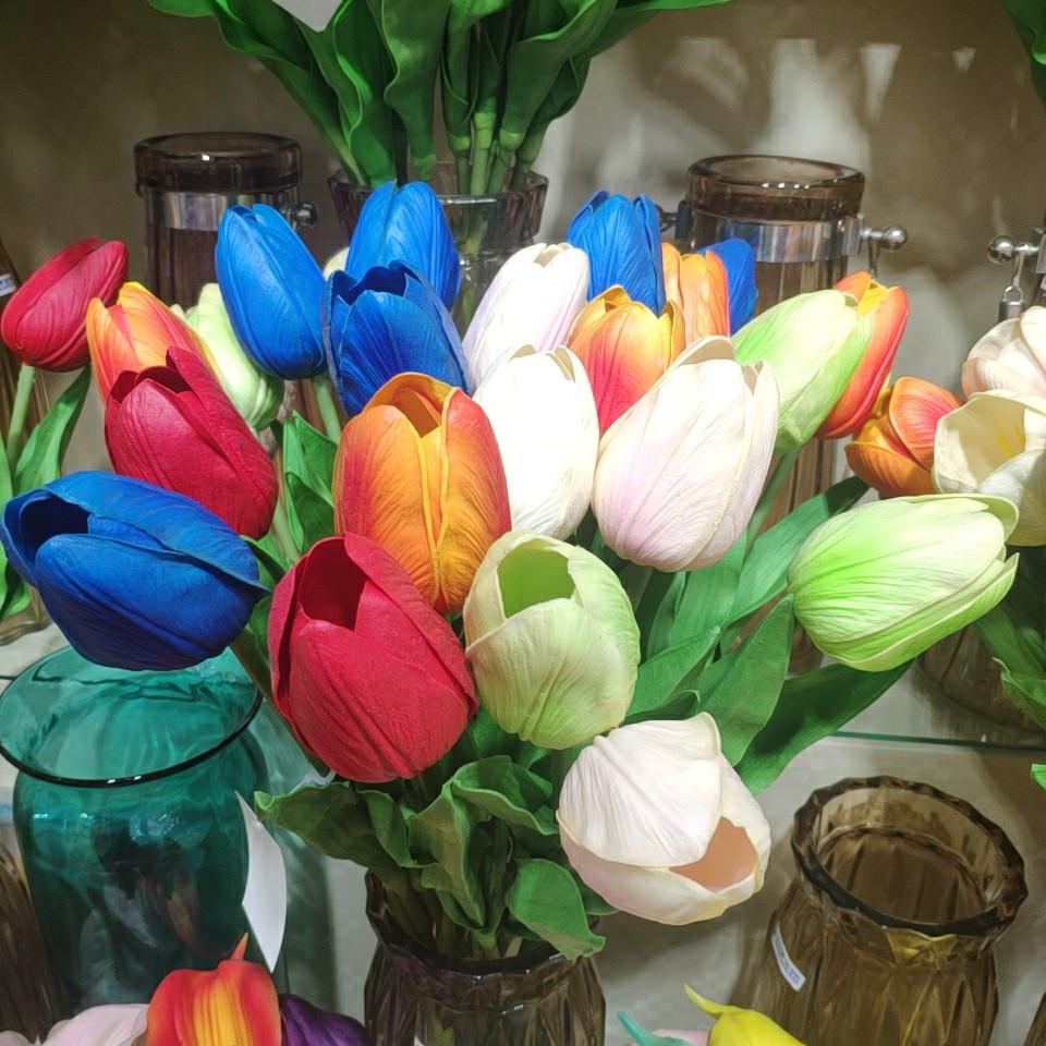 tulips real touch (PU), Yiwu China 3