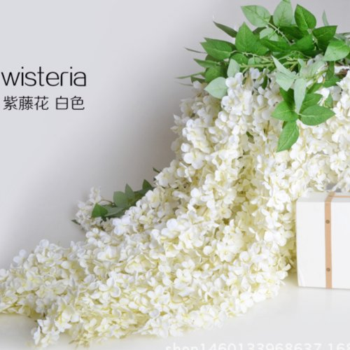 4 type of best seller wisteria artificial flowers in Yiwu, China