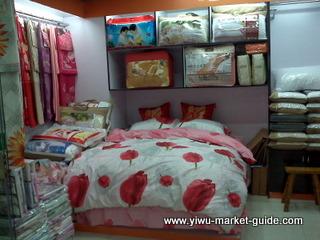 Yiwu bedding textile wholesaler china
