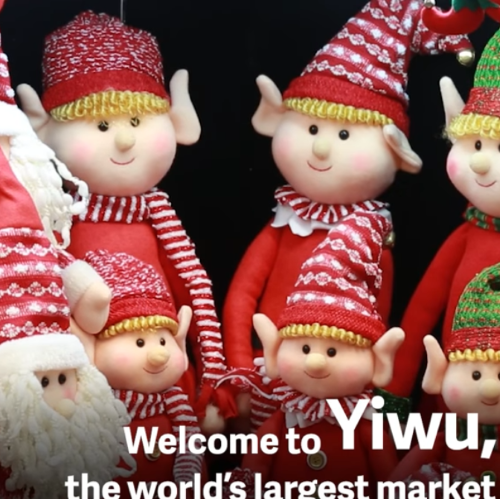 2 Minutes to Know Christmas Wholesale Market in Yiwu