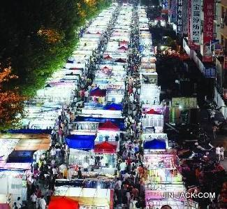 Yiwu night market