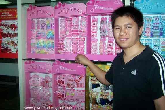 yiwu hair clips wholesaler kids