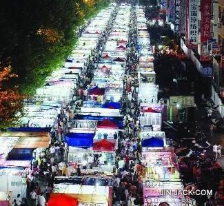 Yiwu night market